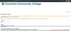 美国科科尼诺县社区学院EDU申请教程