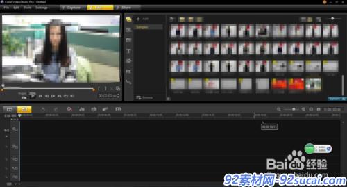 如何将单反拍摄的视频导入会声会影