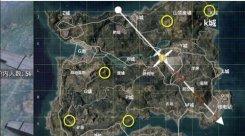 和平精英海岛地图2.0地洞在哪 海岛地图地洞分布位置一览